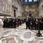 Pape - corps diplomatique