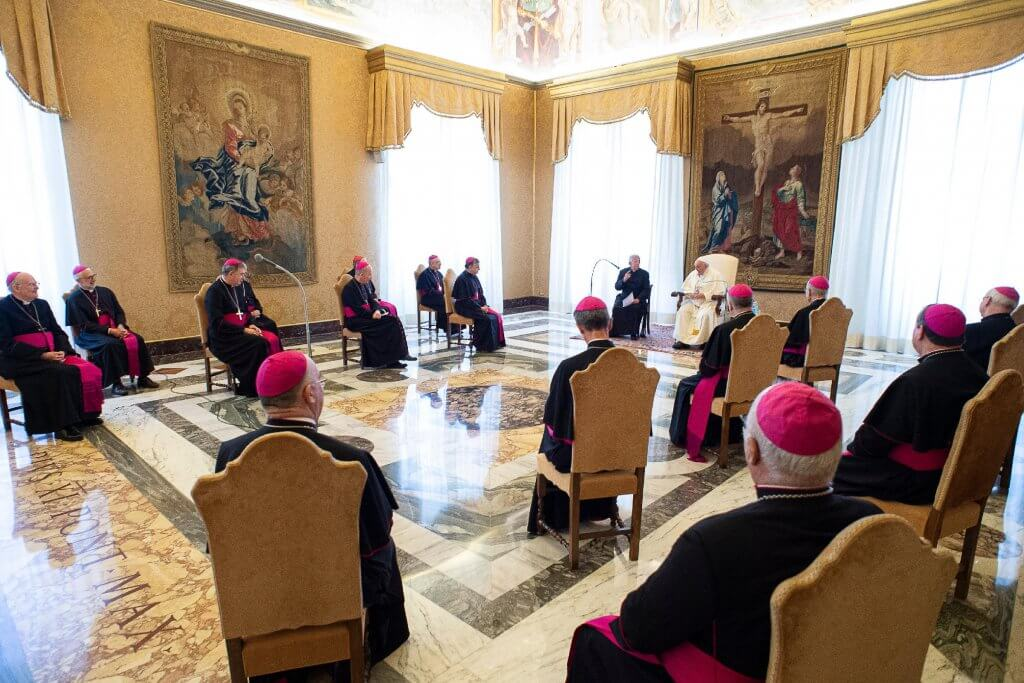 Ad Limina - rencontre avec le pape