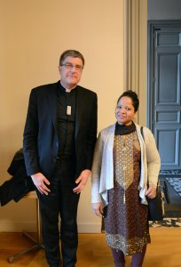 Asia Bibi et Mgr de Moulins-Beaufort