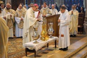 Messe chrismale de 2019 en la cathédrale de Moulins