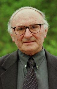 Portrait de Johann Baptist METZ. Professeur de théologie à l'Université de Münster. Allemagne.