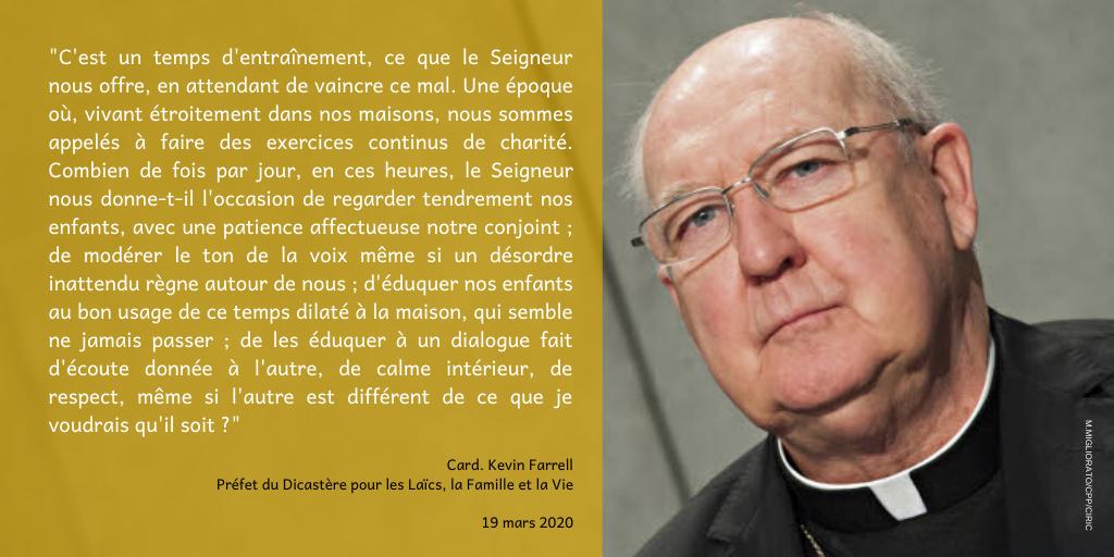 Visuel Cardinal Farrell