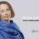 Oranne de Mautort, directrice adjointe du Service national famille et société, responsable du pôle famille