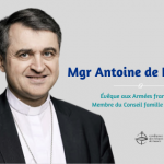 Mgr Antoine de Romanet Évêque aux Armées françaises