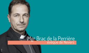 Mgr Brac de la Perriere nevers bapteme 2020