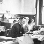 Jean Rodhain et Germaine Blanchet