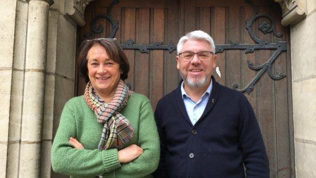 Stephan Chaligné et Muriel Lavaud