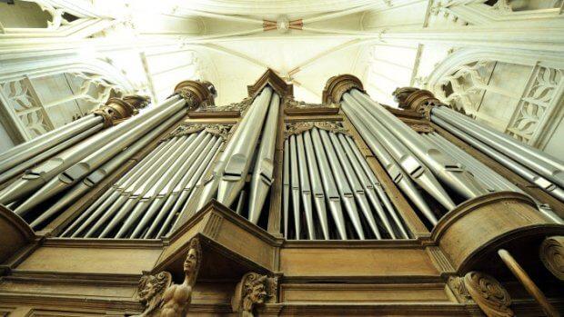 Mai 2009: Orgue (XVIII eme s.) cath. de Nantes (44), France.