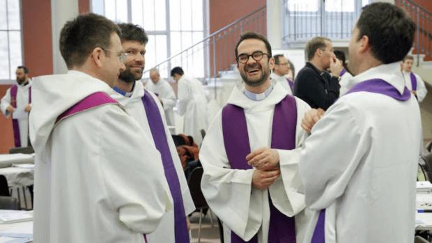Enquête santé des prêtres - format video
