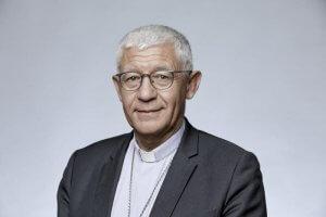 3 novembre 2017 : Portrait de Mgr Luc RAVEL, archevêque de Strasbourg. France.