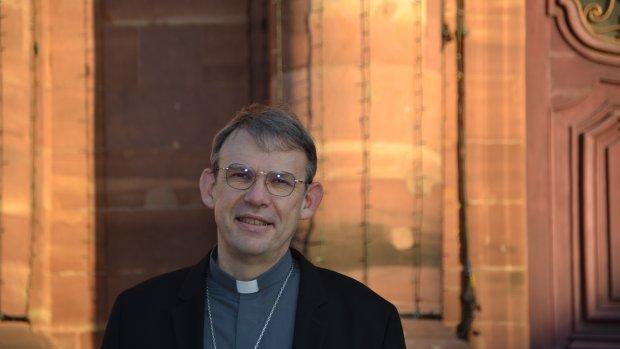 Mgr Dominique Blanchet, nommé évêque de Créteil