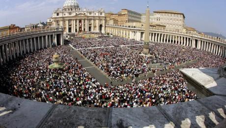 Place saint Pierre de Rome