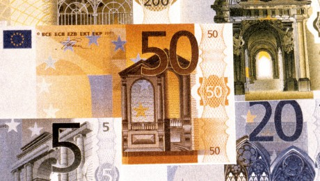 Billets de banque euro