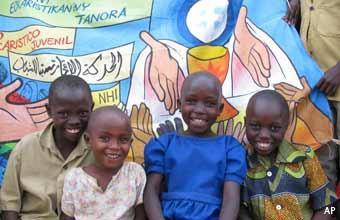 Jeunes Burundi Ruanda RDC