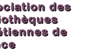 Association des bibliothèques chrétiennes de France